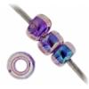 Miyuki Seed Bead 11/0 Amethyst Purple Lined Aurora Borealis